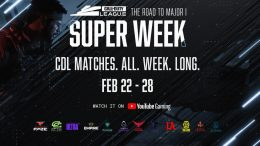 "Call of Duty League Announces ""Super Week"""
