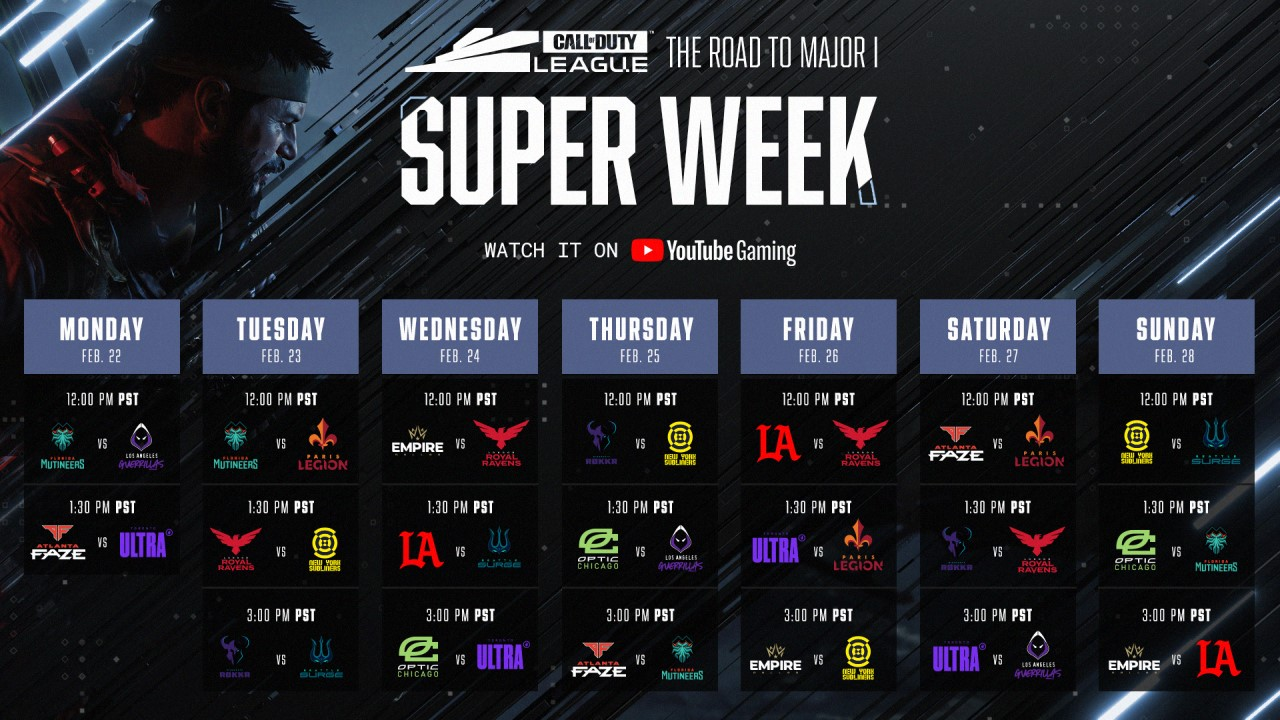 cdl-super-week-schedule
