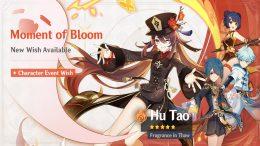 "Genshin Impact Hu Tao ""Moment of Bloom"" Banner Details"