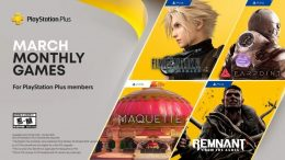 Final Fantasy VII Remake Leads March's PlayStation Plus Games