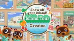 Animal Crossing Island Tour Poster