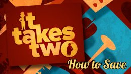 It Takes Two How to Save