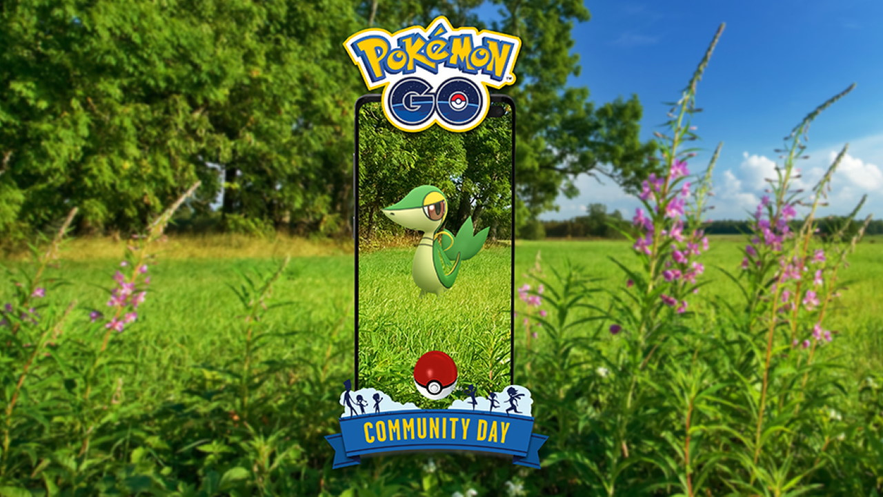 Pokemon-GO-April-Snivy-Community-Day-2021