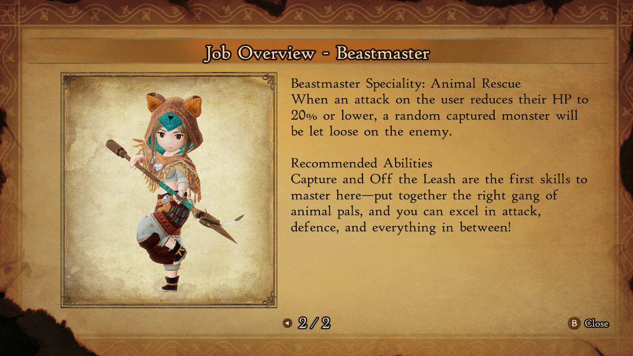 bravely-default-2-beastmaster-guide