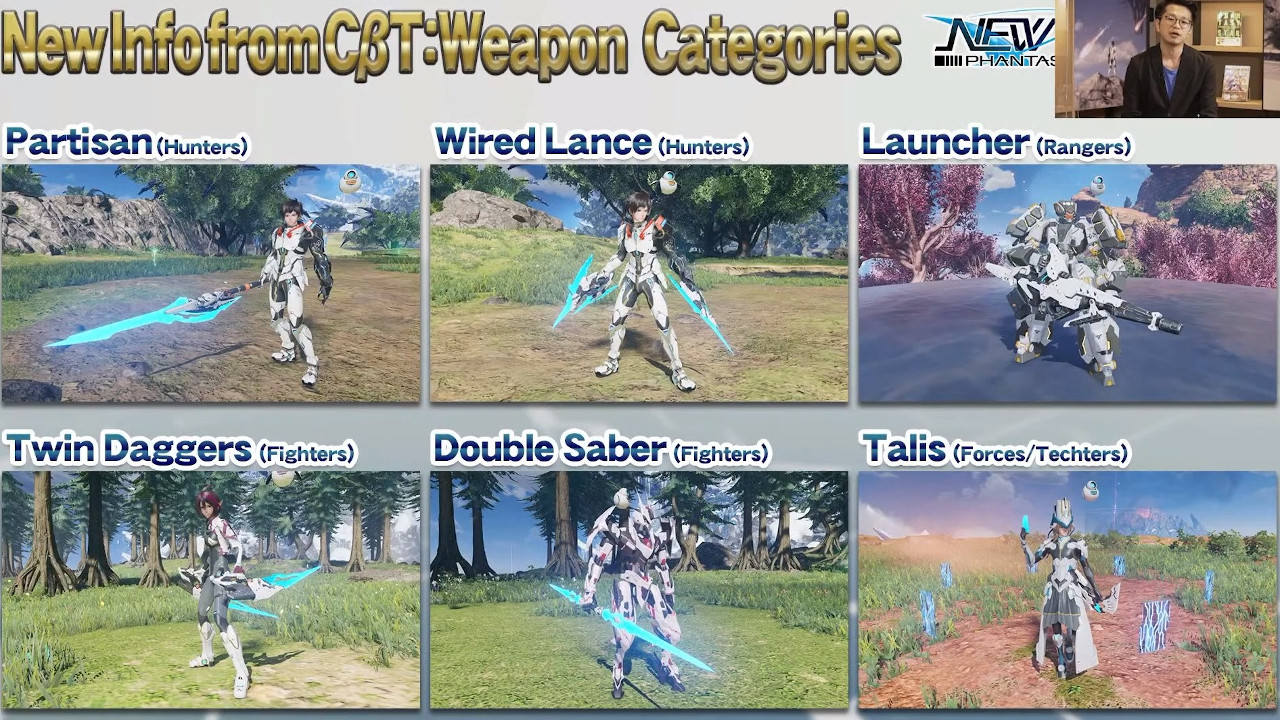 pso2-new-genesis-weapon-categories