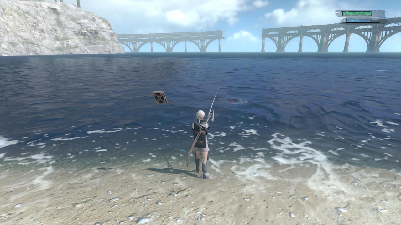 NIer-Replicant-Fishing
