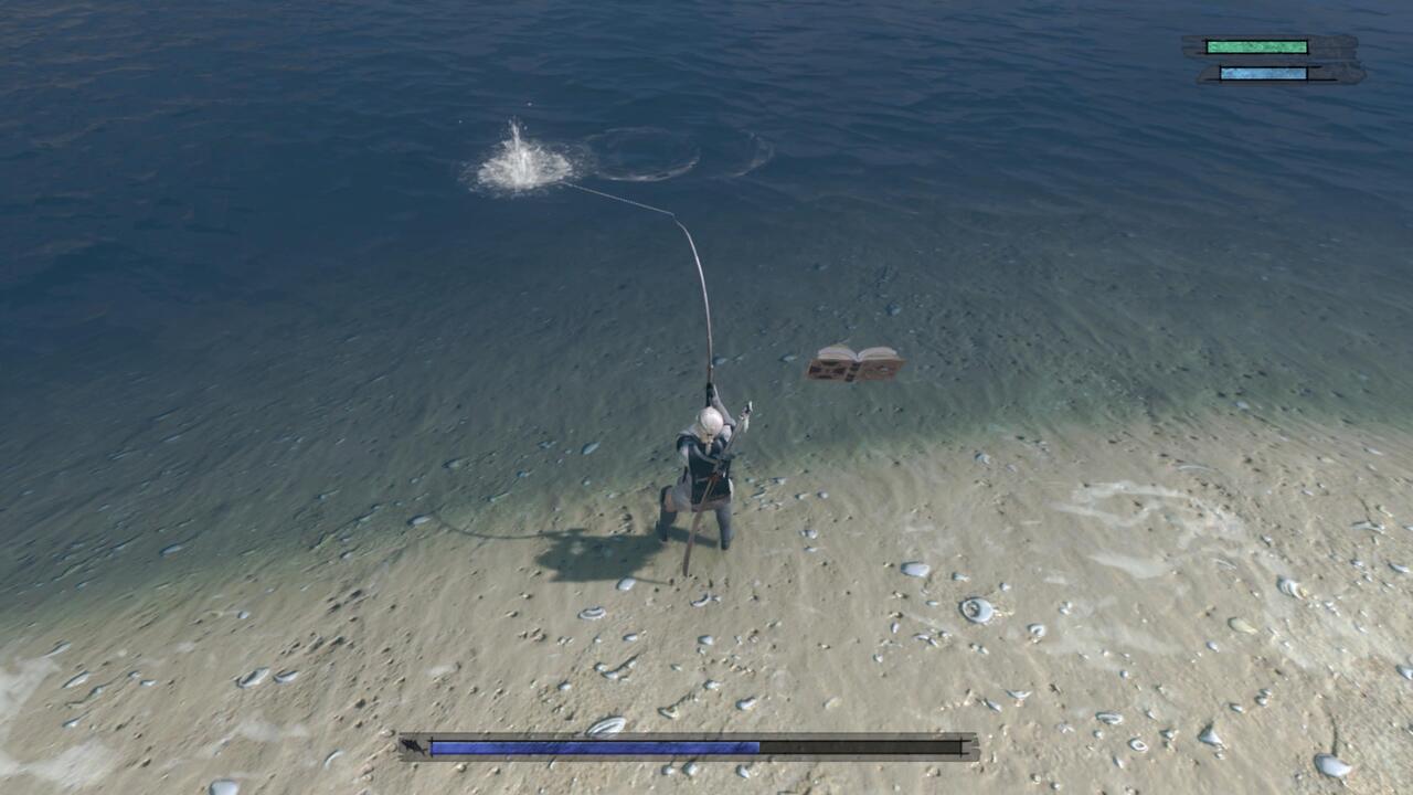 Nier-Replicant-Fishing-Blowfish