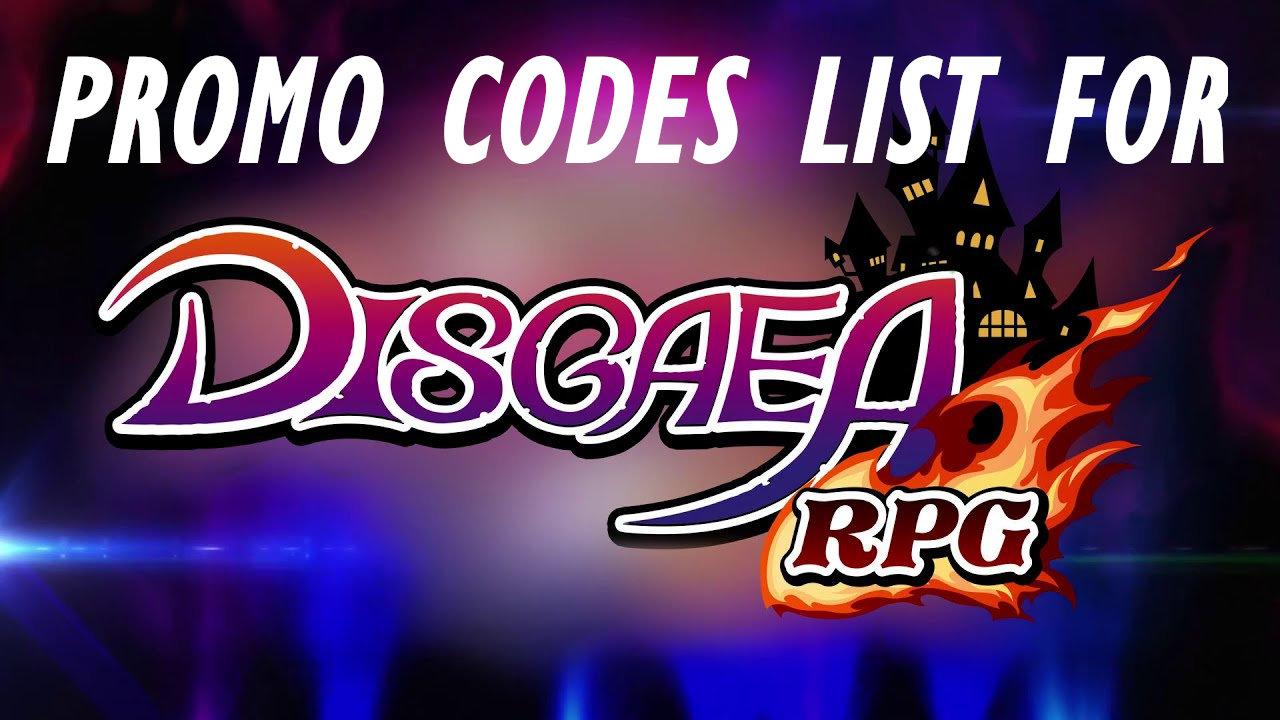 disgaea-promo-codes