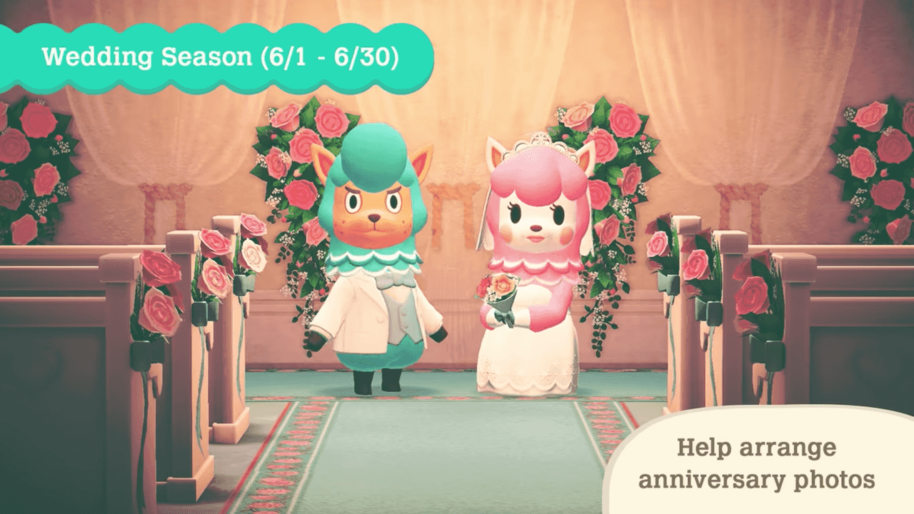 Animal-crossing-new-horizons-wedding-season-photo