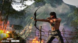 Call of Duty Warzone Combat Bow Rambo