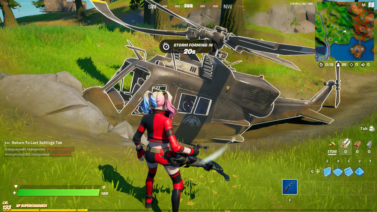 Fortnite-Downed-Black-Helicopter
