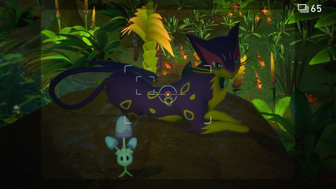 New-Pokemon-Snap-How-to-Get-Behind-the-Waterfall-how-to-move-liepard