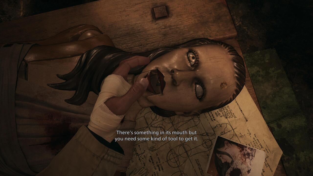 Resident-Evil-Village-Doll-Film-Mouth