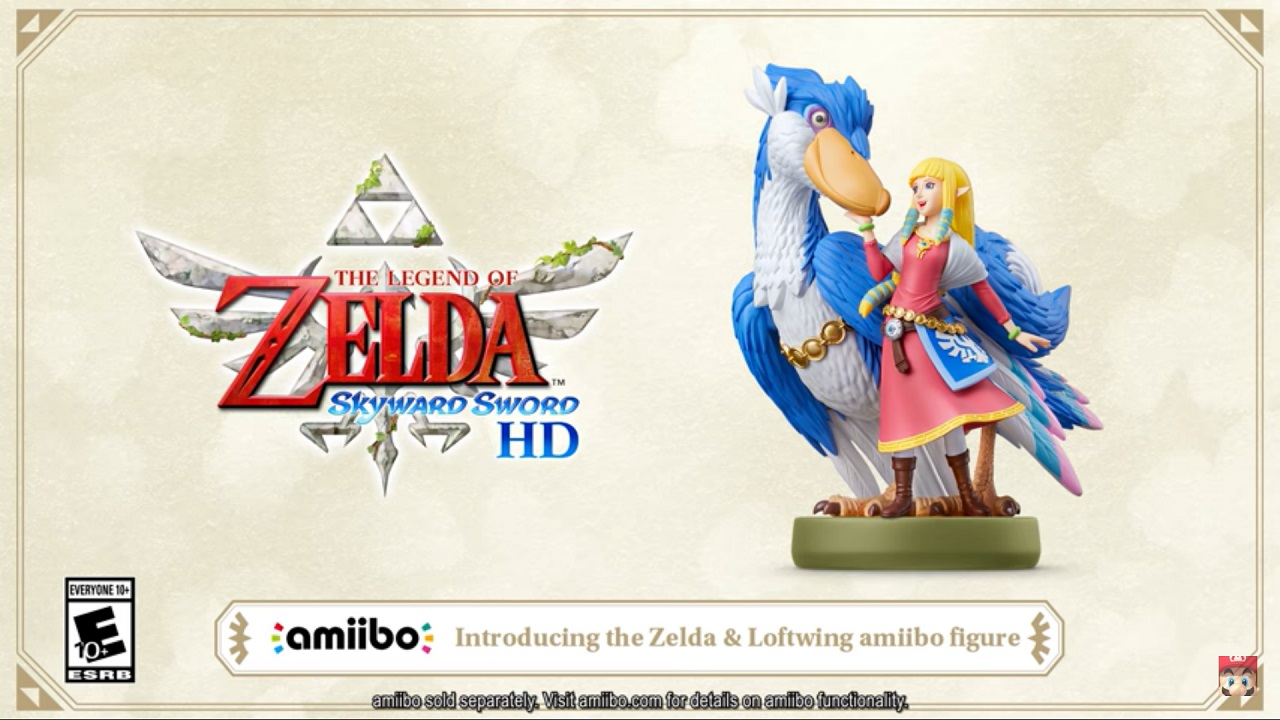 The-Legend-of-Zelda-Skyward-Sword-HD-Zelda-and-Loftwing-amiibo-Sparks-Controversy