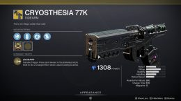 Destiny 2: Cryesthesia 77K Catalyst Objectives and How to Complete Them