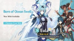 Genshin Impact Eula Banner: Release Date and Featured Characters
