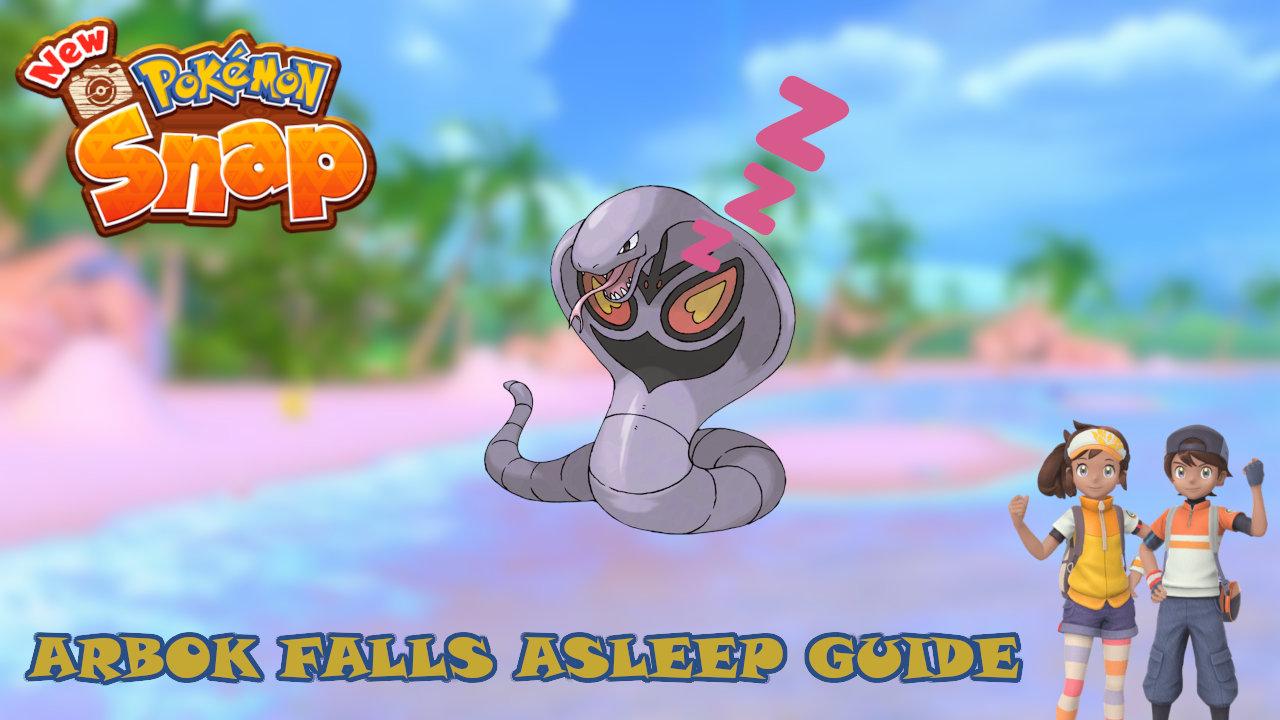new-pokemon-snap-arbok-falls-asleep