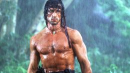 Rambo (Sylvester Stallone) is in Fight Blood, Source: Lionsgate