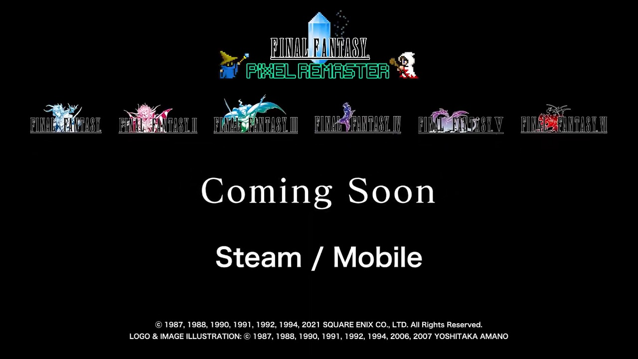 Final-Fantasy-I-VI-Pixel-Remaster-Announced-For-Steam-and-Mobile