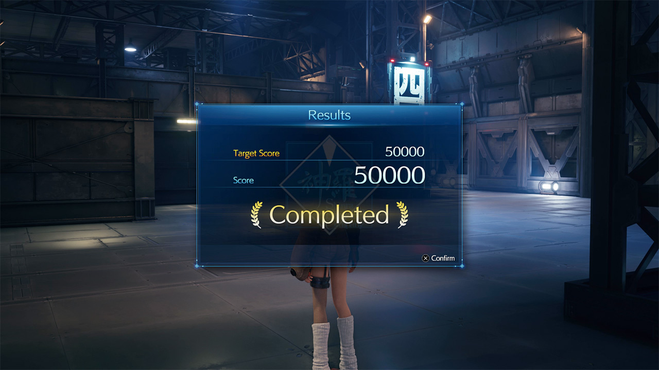 Final-Fantasy-VII-Remake-Intergrade-How-To-Get-50000-Points-In-Shinra-Box-Buster-Soldier