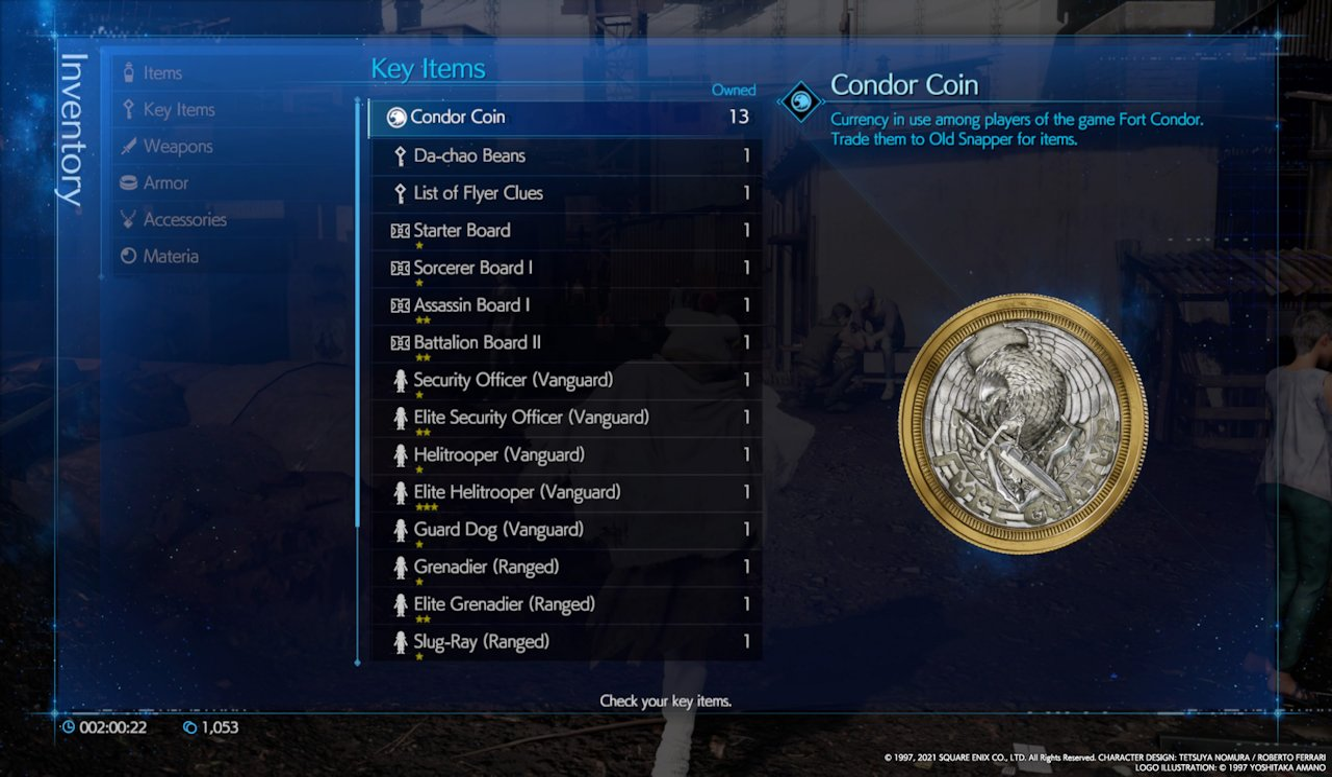 Final-Fantasy-VII-Remake-Intergrade-What-Is-A-Condor-Coin
