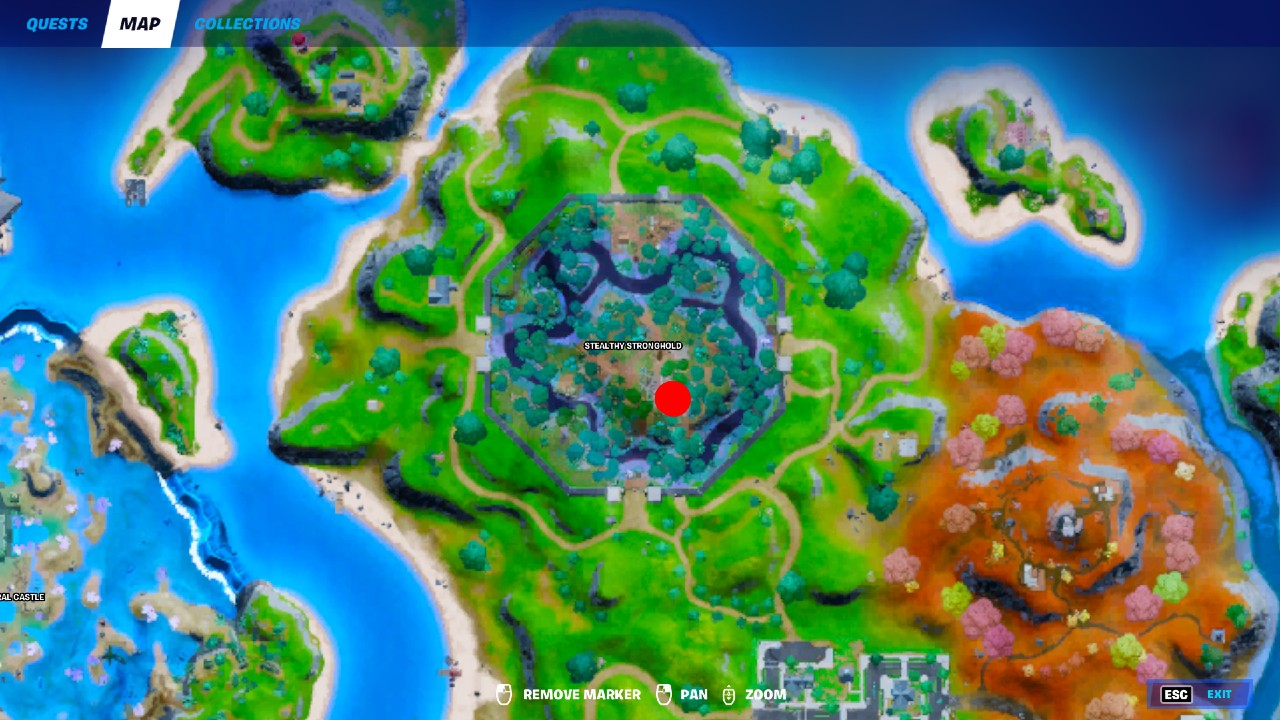 Fortnite-Stealthy-Stronghold-Artifact-Location