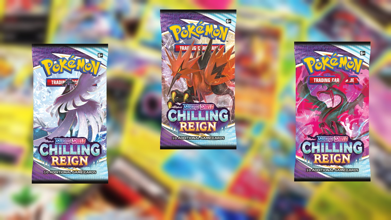 Pokemon-TCG-Sword-and-Shield-Chilling-Reign-Booster-Box-Packs-Opening