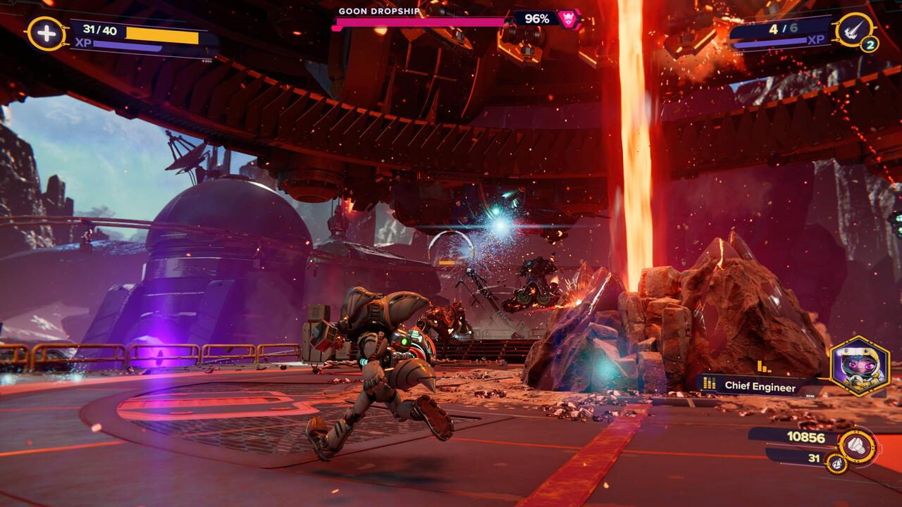 Ratchet-and-Clank-Goon-Dropship-Boss-Fight