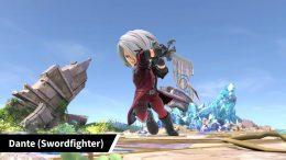 Super Smash Bros Ultimate Dante Mii Fighter