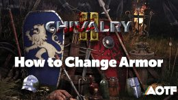 Chivalry 2 - How to Change Armor