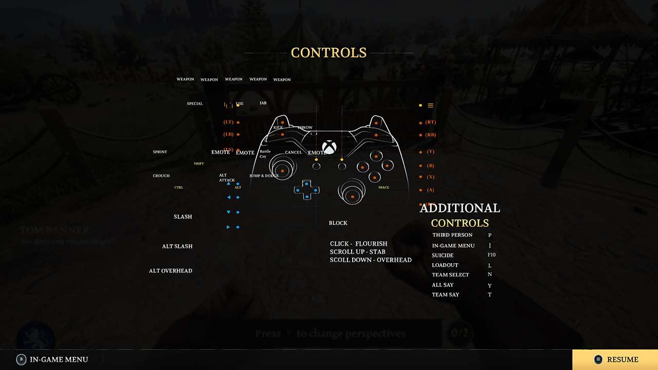 chivalry-2-controls