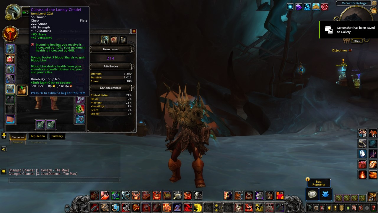 WoW Shadowlands Patch 9.1 - Shards of Domination Guide