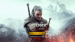 Cover art for the PS5/Xbox Series release of The Witcher 3: Wild Hunt.