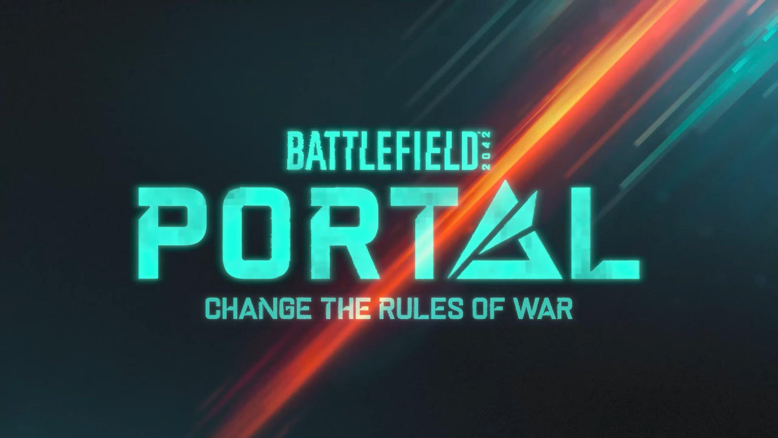 Promotional image of Battlefield Portal's logo.