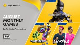 PlayStation Plus August 2021.