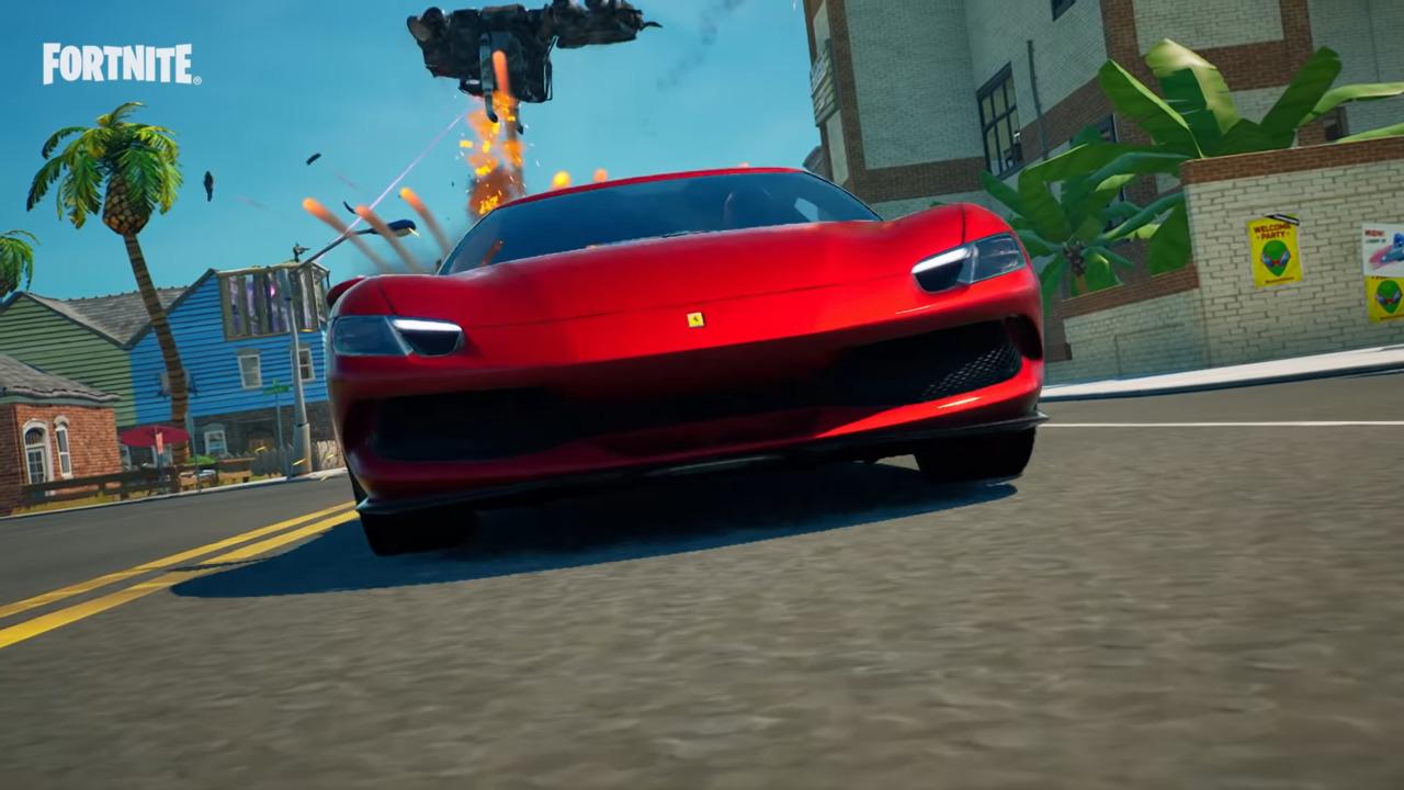 Fortnite-Ferrari-Challenges