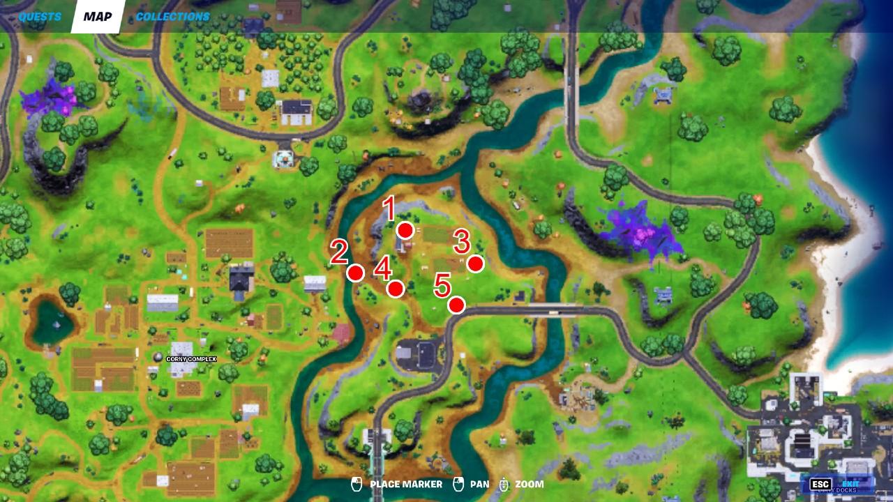 Fortnite-Prepper-Supplies-Locations-Map