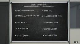 GTA Online Exotic Exports List