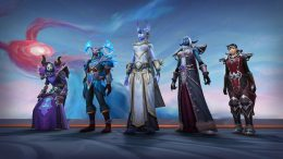 WoW protest activision blizzard characters