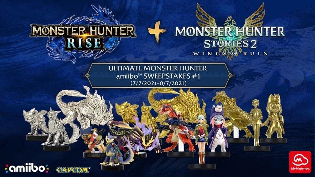Monster Hunter Amiibo giveaway