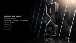Nvidia Reveals Long-Rumored RTX 3080 Ti and RTX 3070 Ti GPUs