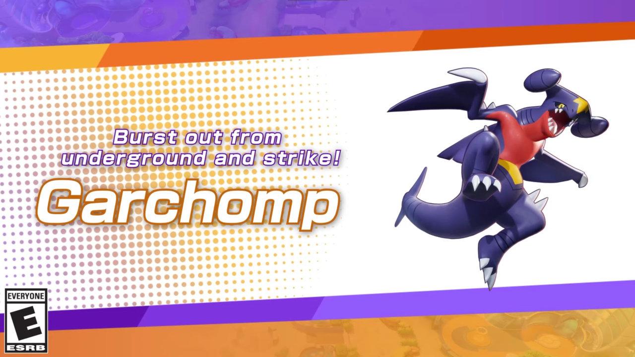 pokemon-unite-garchomp