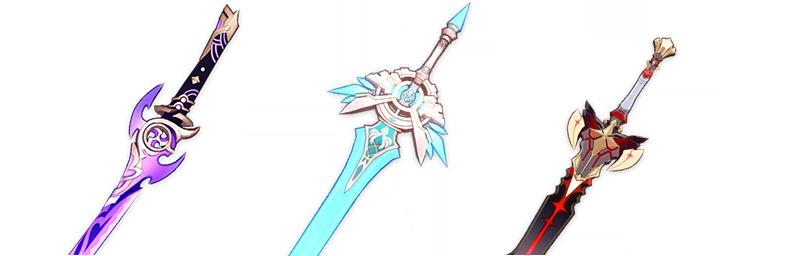 Ayaka-weapons