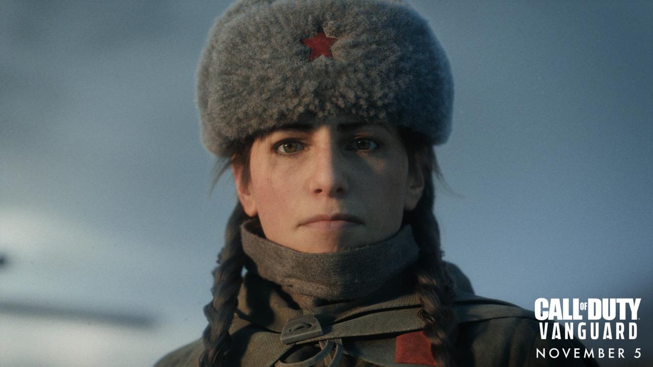 Call of Duty Vanguard Polina Petrova Reveal Screenshot