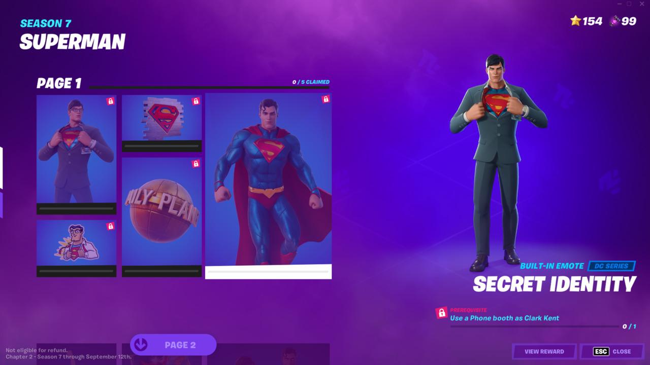 Fortnite-Secret-Identity-Clark-Kent-Emote
