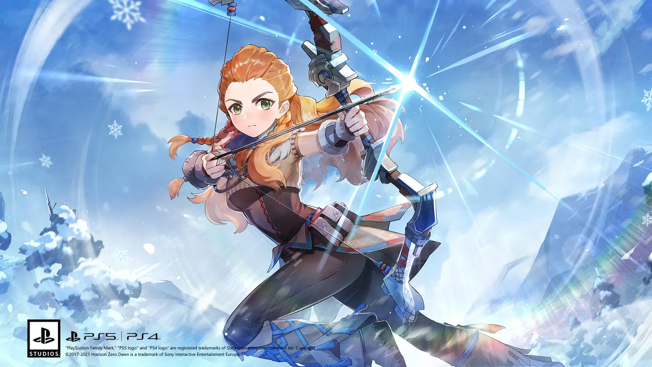 Genshin Impact Aloy PlayStation Crossover