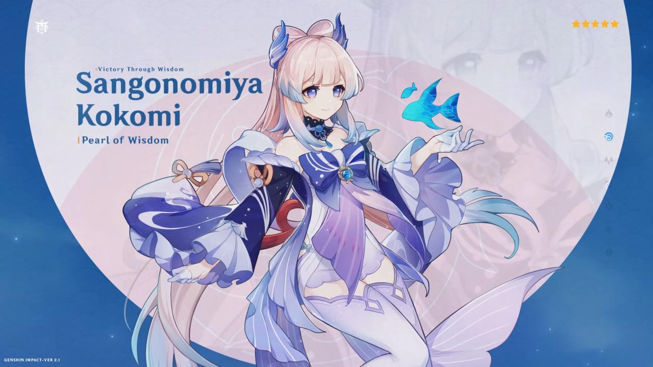 Genshin-Impact-Sangonomiya-Kokomi