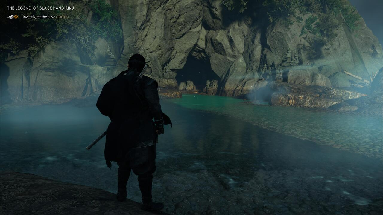 Ghost of Tsushima Director's Cut Mysterious Cave