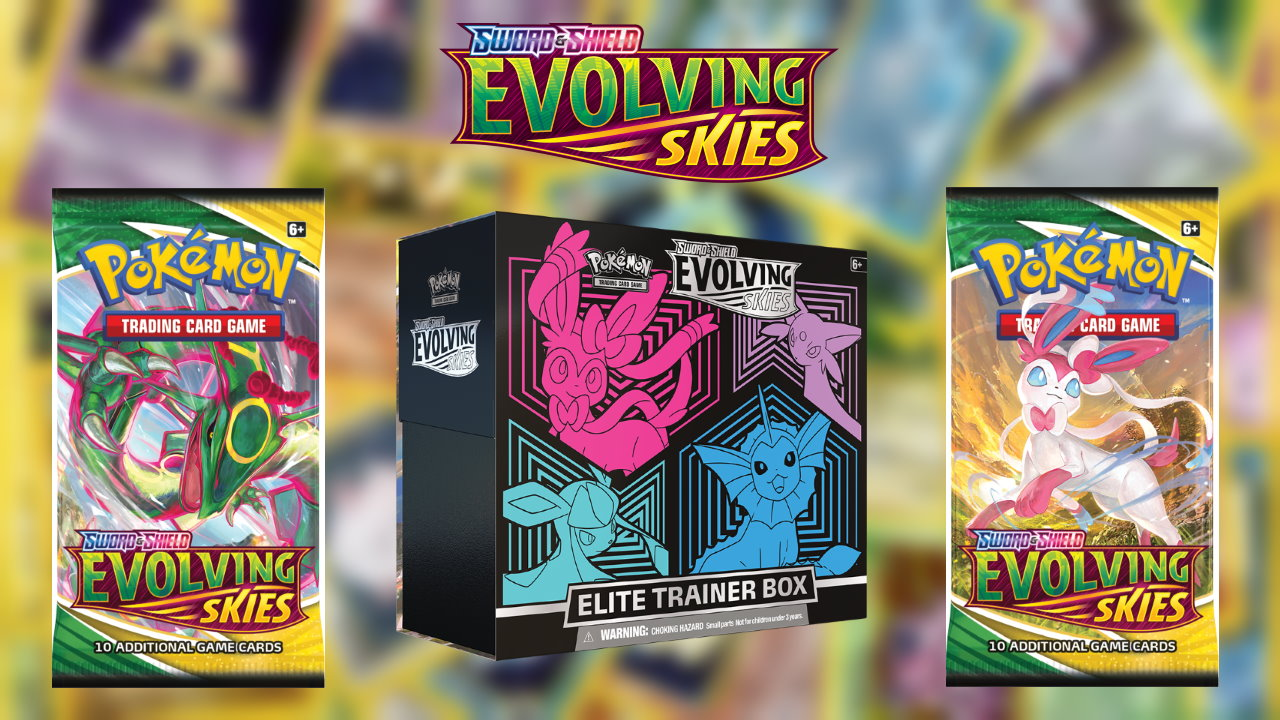 Pokemon-TCG-Sword-and-Shield-Evolving-Skies-ETB-and-Booster-Box-Review-and-Unboxing