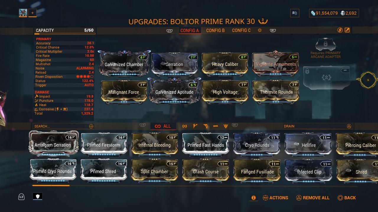Warframe-Boltor-Prime-Build
